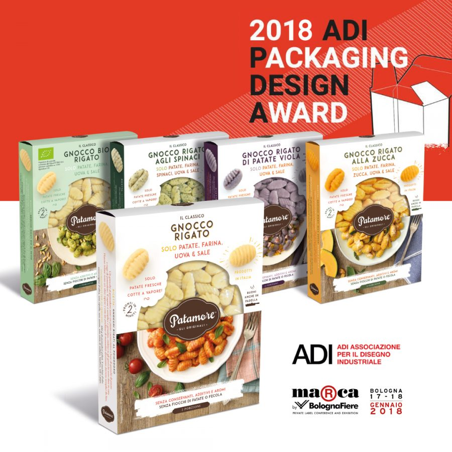 ADI Packaging award 2018 - Qreactive & BCGourmet